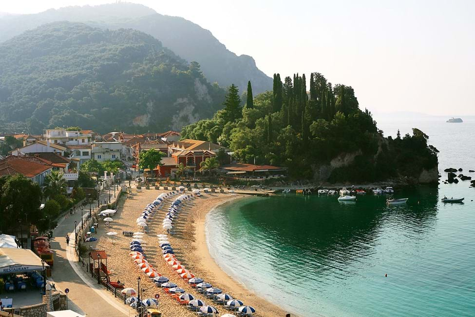 Krioneri Beach, Parga by