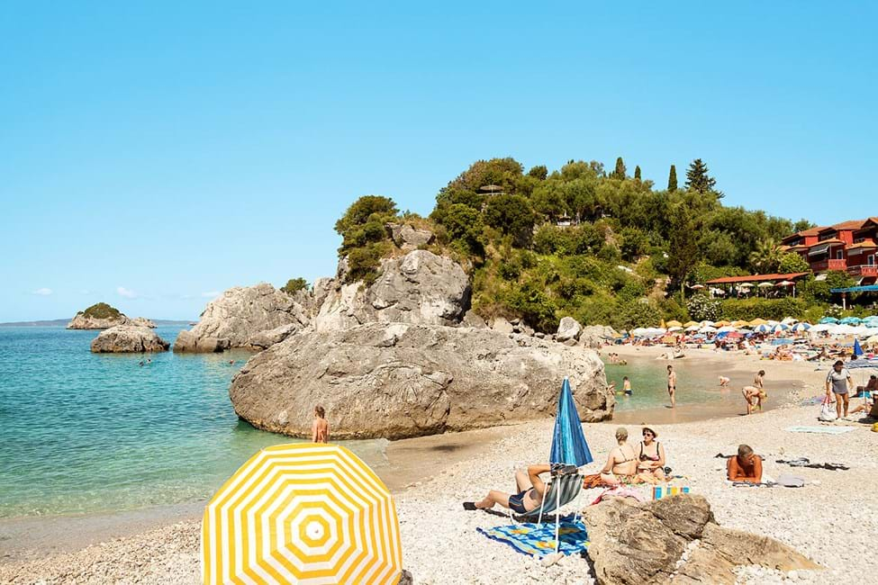 Piso Krioneri Beach, Parga by